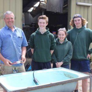 Bush School Embraces Solar Power As Students Build Panels For Fish Farm