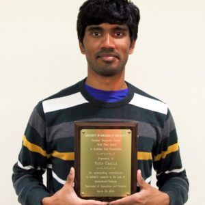 UAPB Aquaculture/fisheries Graduate Student Wins At Annual Research Forum