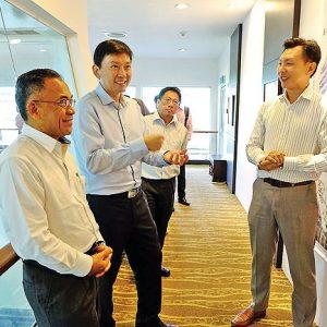 Singapore Minister Praises Brunei's Aquaculture Industry