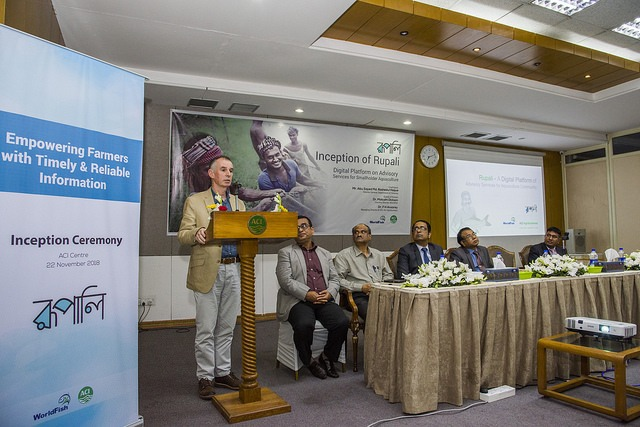 Digital Platform To Provide Aquaculture Advisory Services To Small-scale Fish Farmers In Bangladesh